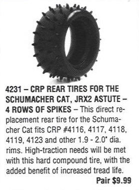 From CRP's 1989 Catalog