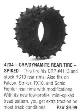 From CRP 1989 Catalog